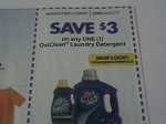 $3/1 Oxiclean Laundry Detergent 6/21/2017