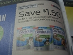 $1.50/1 Purina DentaLife Daily Oral Care Dog Treats 12/30/2016