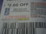 $2/1 Oral B Adult Battery Toothbrush 12/3/2016