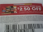 $2.50/2 Tyson Anytizers Snacks or Crispy Chicken Strips 4/2/2017