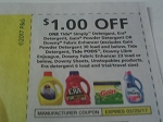 $1/1 Tide Simply, Era, or Gain Powder Laundry Detergent Or Downy Fabric Enhancer 2/25/2017